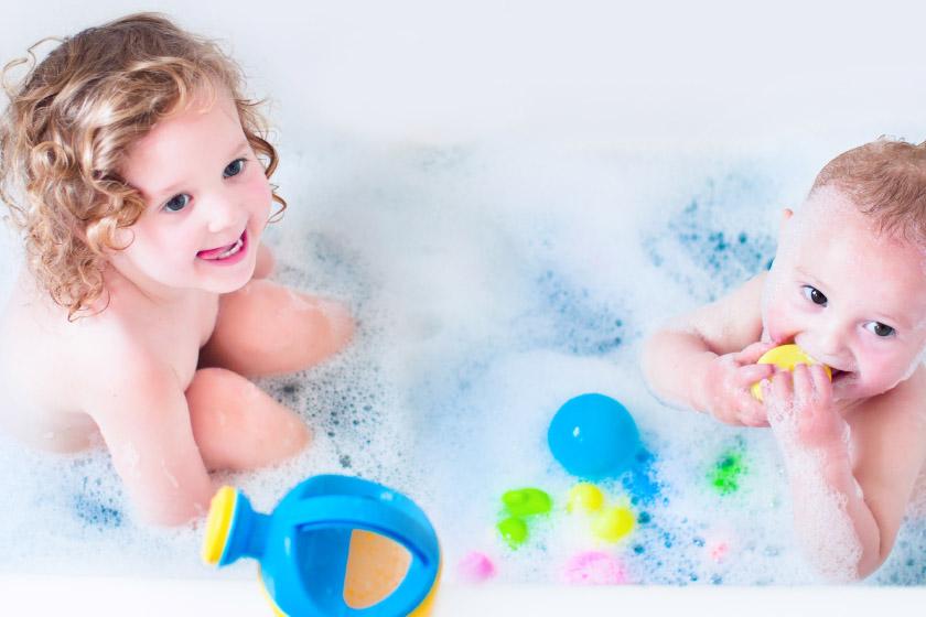 Пенка для купания очищение и уход с первых дней