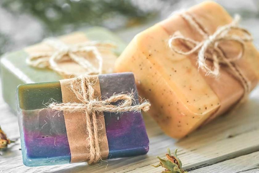 Преимущества домашнего мыла