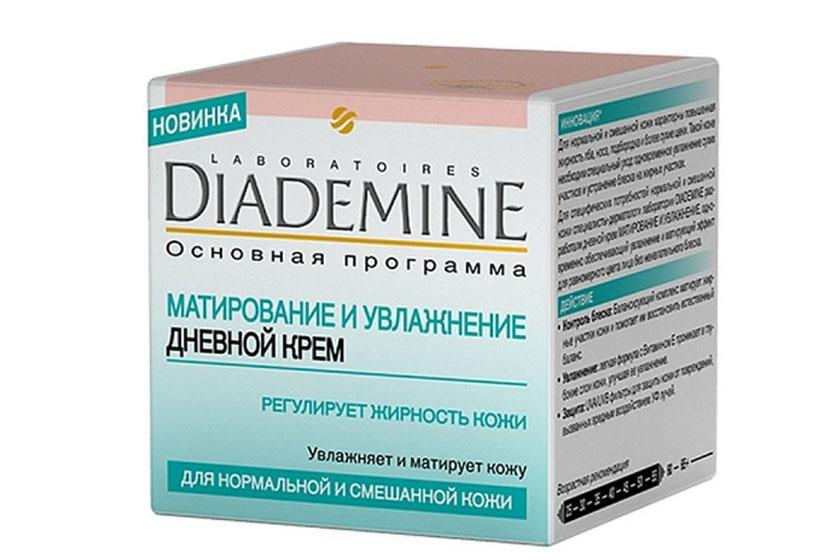 «Матирование и увлажнение» от Diademine