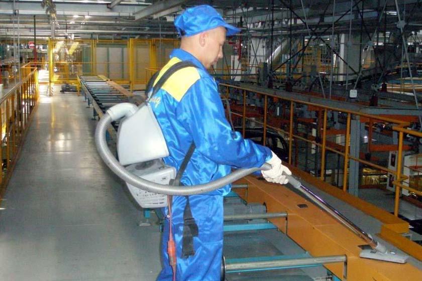 Промышленный клининг – чистота и порядок на каждом предприятии