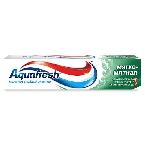 "Зубная паста Aquafresh ""Мягко-мятная"", 100 мл"