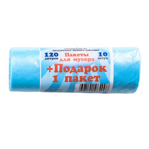 Пакеты для мусора Королевство чистоты 120л10шт (ПЭКЧ-120-10г)