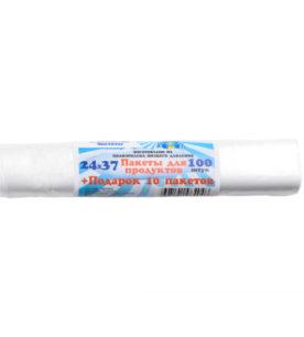 Пакеты для продуктов Королевство чистоты 24на37 100шт (арт ПЭКЧ-24-37)