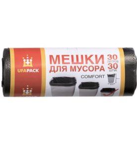 Мешки для мусора Комфорт UFAPACK 30 л, 30 шт