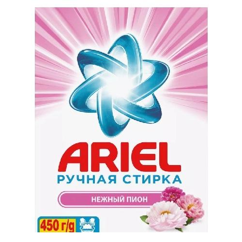 """Стиральный порошок Ariel """"Нежный пион, для ручной стирки"""", 450 г"""