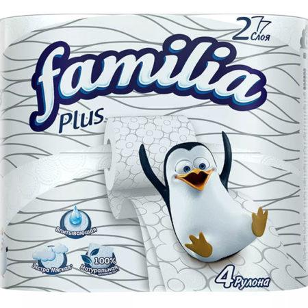 Туалетная бумага Familia: мягкость и комфорт каждый день