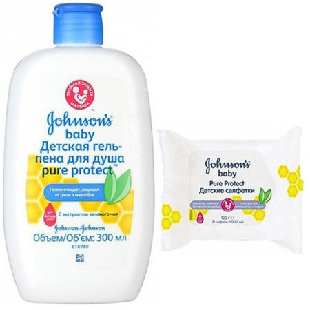 Johnson's baby: гипоаллергенные формулы для нежной детской кожи
