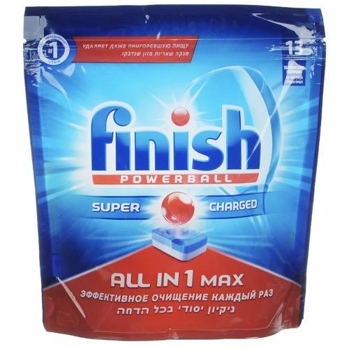 "Таблетки для посудомоечных машин Calgonit finish ""All in 1 Max"", 13 шт"
