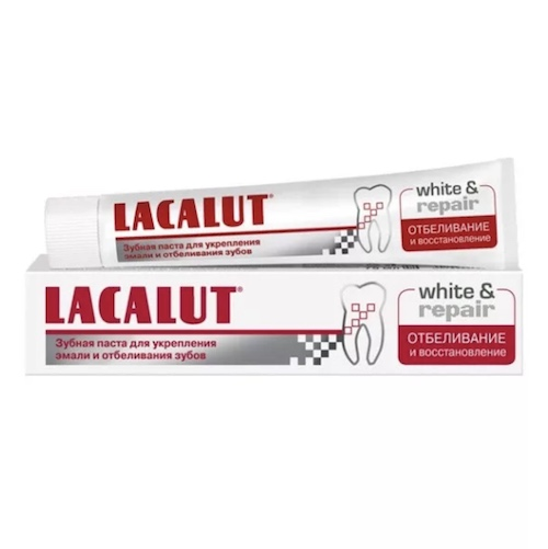 """Зубная паста Lacalut """"White & Repair"""", 75 мл"""