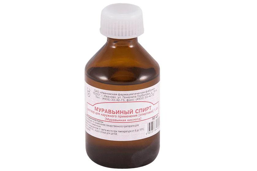 Муравьиный спирт для дезинфекции