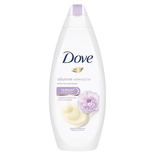 """Гель для душа Dove """"Сливочная ваниль и пион"""", 250 мл"""