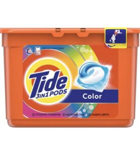 "Гель-капсулы Tide ""Color"", 15 шт"
