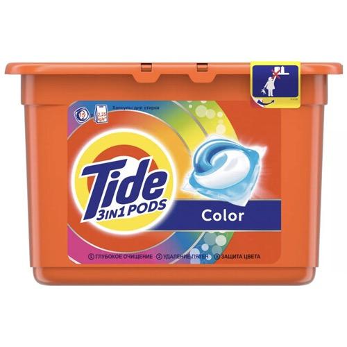"Гель-капсулы Tide ""Color"", 15 шт"