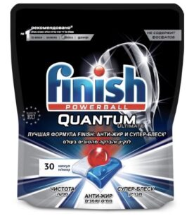 Капсулы для машин Finish Quantum Ultimate 30