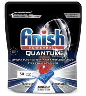 Капсулы для машин Finish Quantum Ultimate 30