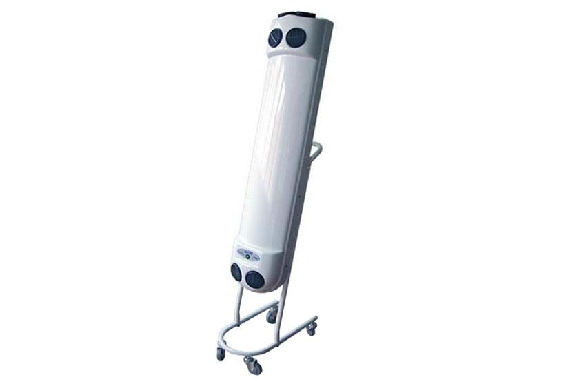 Места установки ламп для дезинфекции