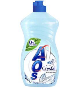 "Средство для мытья посуды AOS ""Кристал"", 450 мл"