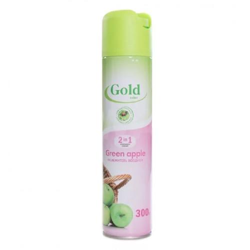 Освежитель воздуха Gold mint «зеленое яблоко», 300 мл