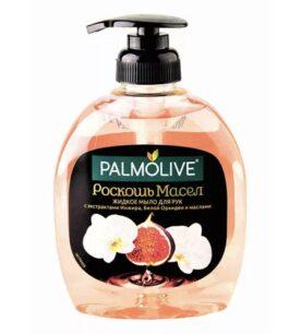 ПАЛМОЛИВ жид:мыло 300мл Роскошь масел Инжир, Белая орхидея