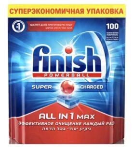 "Таблетки для посудомоечных машин Calgonit finish ""ALL IN 1 Max"", 100 шт"