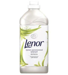 """Кондиционер-концентрат для белья Lenor """"Вербена"""", 1,785 л"""