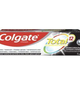 """Зубная паста Colgate """"Total 12, Глубокое очищение"""", 75 мл"""